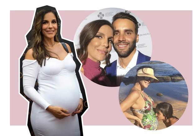 Os bebês de 2018 - Ivete Sangalo (Foto: Globo/João Cotta e Reprodução/Instagram)