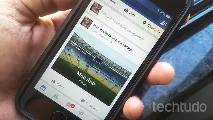 Como usar uma foto de perfil temporária no Facebook pelo celular (Foto: Marvin Costa/TechTudo)