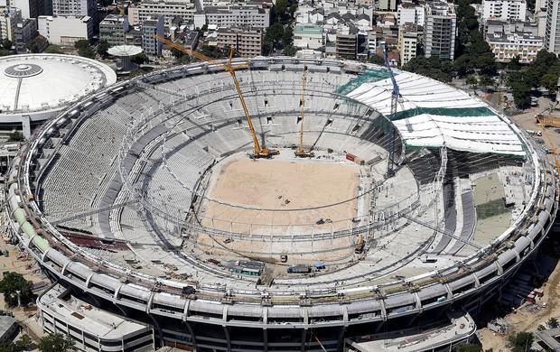 obras estádio maracanã  (Foto: Agência Reuters)