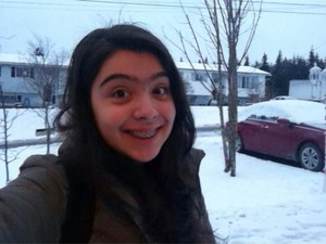 Isabelle Vita, professora de inglês, no Canadá (Foto: Isabelle Vita/Arquivo Pessoal)
