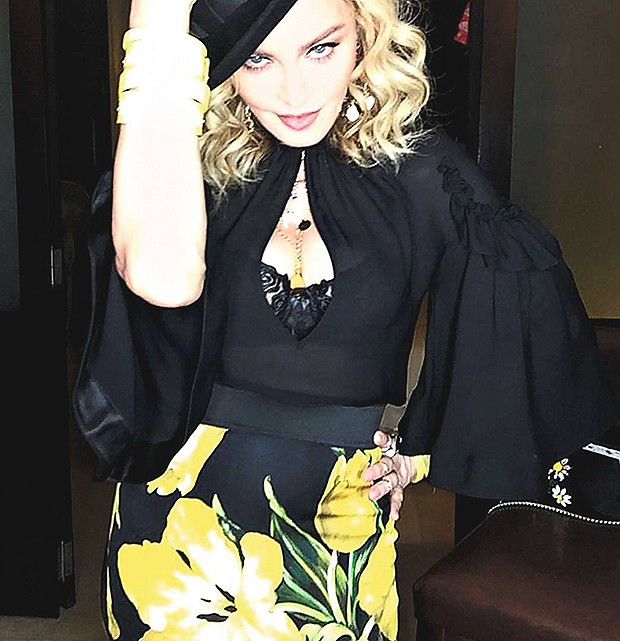 Madonna (Foto: Thinkstock, Reprodução Instagram)