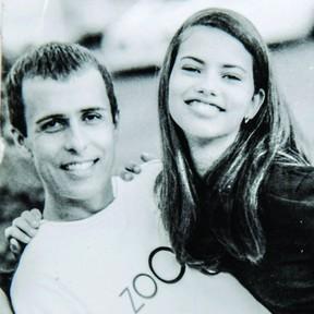Pietro Di Marcos e Adriana Lima (Foto: Reprodução / Instagram)
