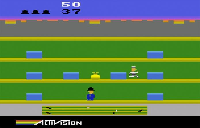 Keystone Kapers, o eterno Polícia e Ladrão (Foto: Reprodução/Atari Archives)