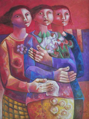 """""""Flores Siderais"""", de Adélio Sarro (Foto: Divulgação)"""