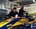 """Sem espaço na F-1, Kobayashi """"sobra"""" em 1º teste na Super Formula japonesa"""