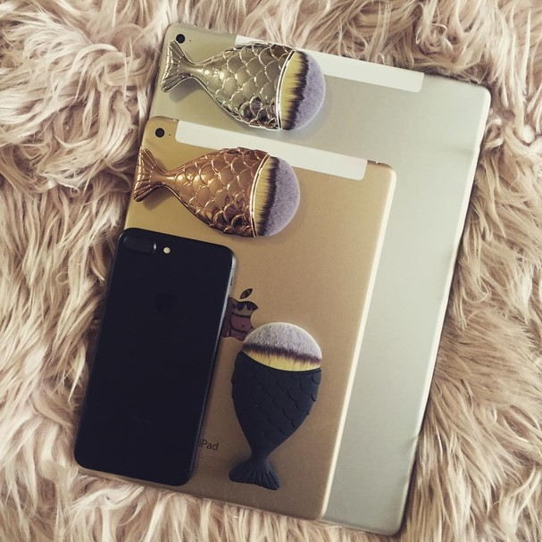 Sim, as cores foram inspiradas em aparelhos da Apple! (Foto: Reprodução Instagram)