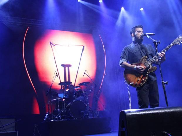 Banda Versalle faz show no Rio (Foto: Alex Palarea/ Ag. News)