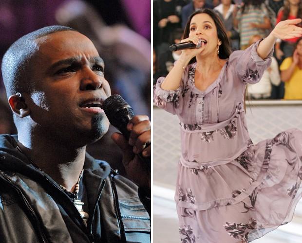 Alexandre Pires e Ivete Sangalo são os convidados do The Voice Brasil (Foto: The Voice Brasil/TV Globo)