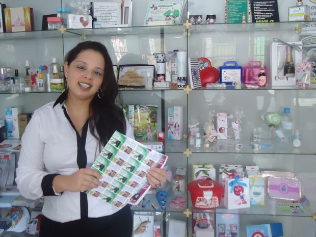 Catarina percebeu que produtos venderiam mais se tivessem rótulos (Foto: Arquivo Pessoal)
