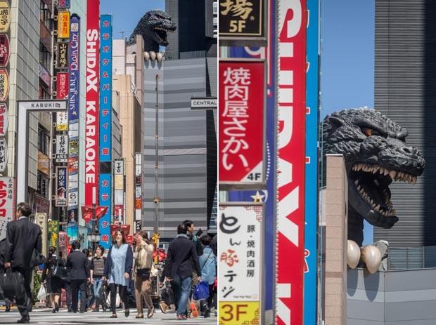 Godzilla ganha hotel temático no Japão com quartos com  ~ Quarto Tematico Japones