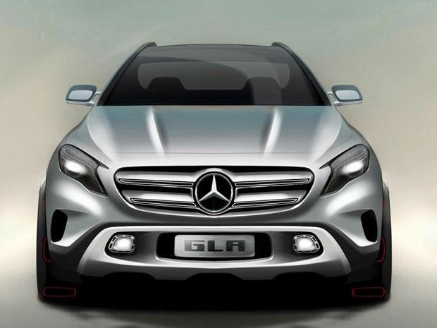 Novo Mercedes-Benz CLA estreia no Salão de Xangai neste sábado (20) (Foto: Divulgação)