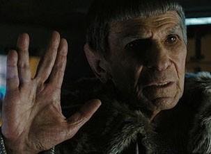 Ator que interpretou Spock em outros filmes, faz uma participação especial (Foto: divulgação)