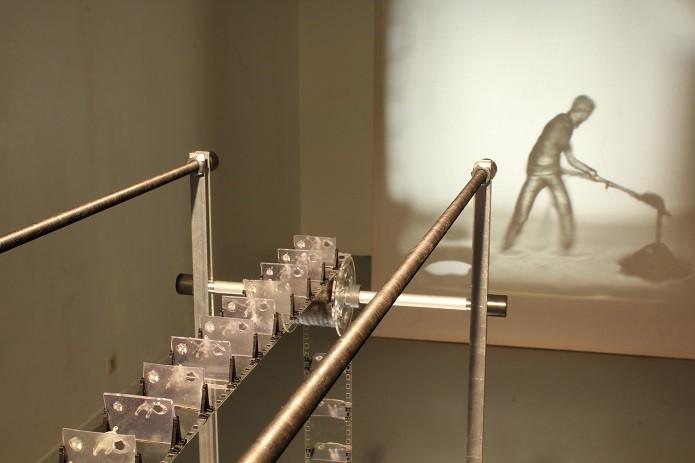 As pequenas esculturas formam uma película contínua (foto: Reprodução/3dPrint)