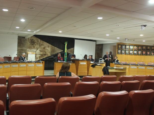Julgamento de recurso acontece às portas fechadas (Foto: Catarina Costa/G1 PI)