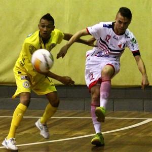 Pulo do Gato x Grêmio Mogiano Liga Paulista de Futsal (Foto: Cleomar Macedo)