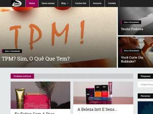 No blog Pudor Nenhum, Lu Rosário fala sobre diversos assuntos sobre sexualidade (Foto: Reprodução)
