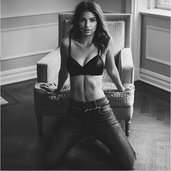 A modelo Emily Ratajkowski (Foto: Instagram)