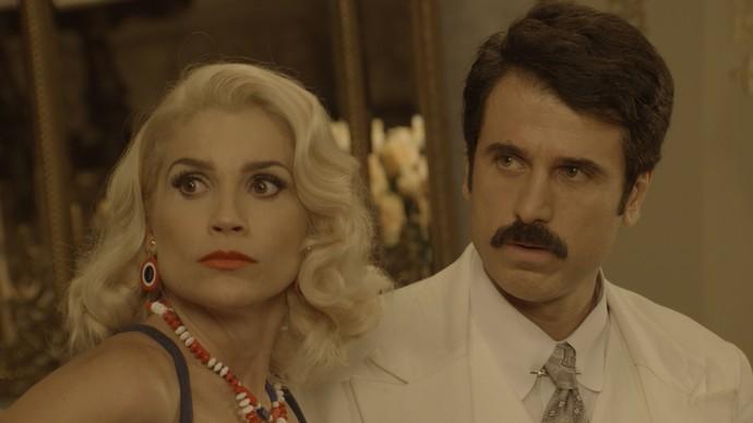 Jack afirma que Sandra e Ernesto já se conheciam (Foto: TV Globo)