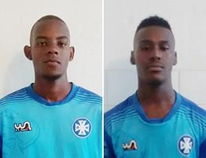 Rômulo (esq.) e Wesley estão envolvidos na polêmica (Foto: Cristiane Mendes/GloboEsporte.com)