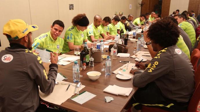 Jogadores Seleção (Foto: RafaelRibeiro / CBF)