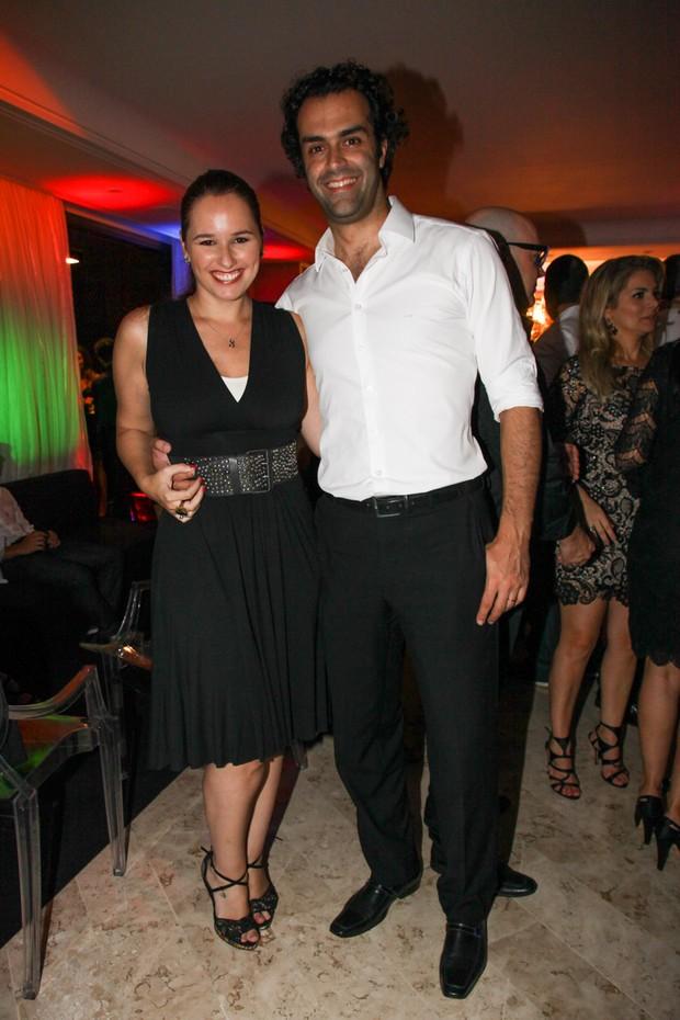 Mariana Belém e Cristiano Saab  (Foto: Manuela Scarpa/Photorionews)