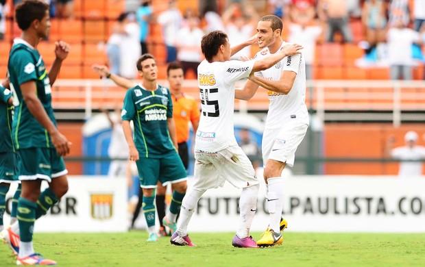 Pedro castro santos gol goiás copa são paulo junior (Foto: Marcos Ribolli / Globoesporte.com)