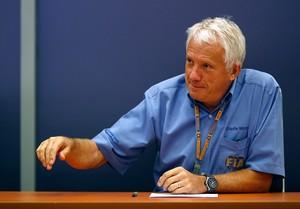 Charlie Whiting, diretor de provas da FIA (Foto: Getty Images)
