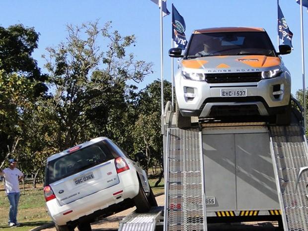 land rover teste (Foto: Divulgação)