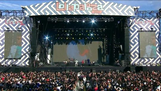 Lollapalooza tem recorde de público nos dois dias de shows