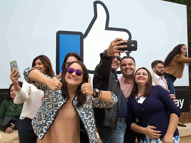 Em novembro de 2016, grupo de alunos da Pós-graduação Unifor visitou empresas como o Facebook (foto), IBM e TiE Sillicon Valley, além de instituições de ensino superior (Foto: Carolina Quixadá/Unifor)