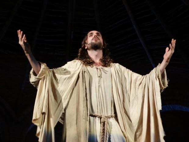 Encenação da Paixão de Cristo é realizada há 49 anos em Nova Jerusalém (Foto: Kamylla Lima/G1)