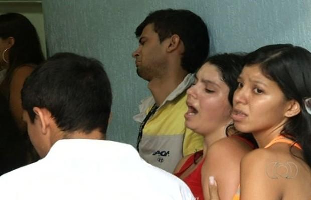 Bebê de 9 meses morre em hospital e família acusa erro médico, em Anápolis (Foto: Reprodução/TV Anhanguera)