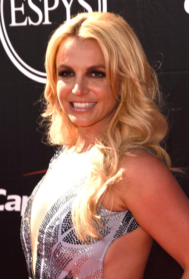 Britney Spears em premiação em Los Angeles, nos Estados Unidos (Foto: Jason Merritt/ Getty Images/ AFP)