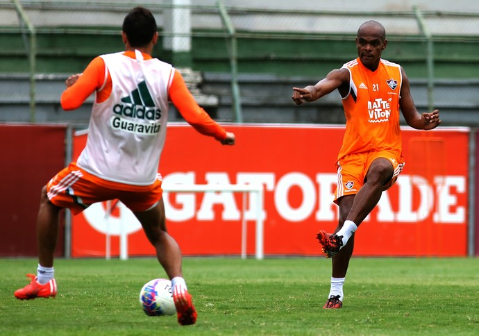 Henrique, treino, Laranjeiras (Foto: Nelson Perez/Fluminense F.C.)
