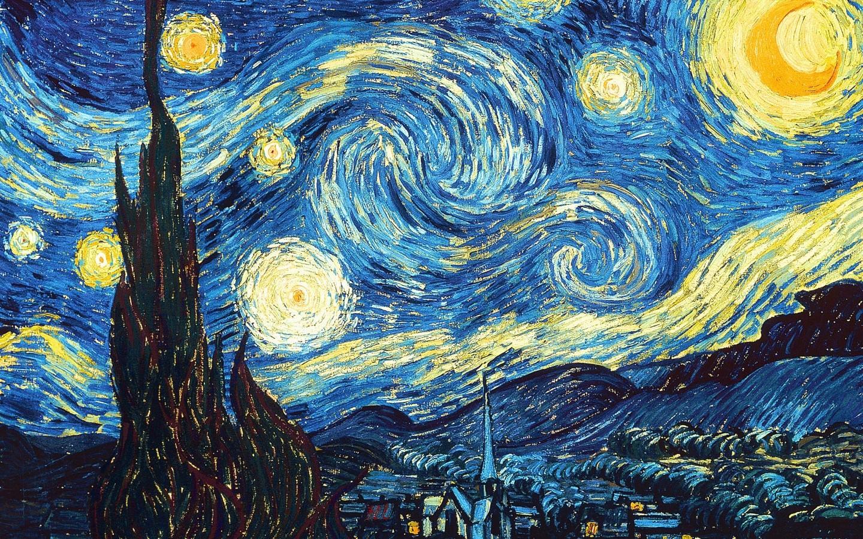 Noite Estrelada (Foto: Reprodução/ Van Gogh)