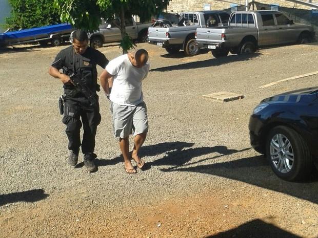 Duas pessoas são presas em Araguaína (Foto: Lucas Ferreira/TV Anhanguera)