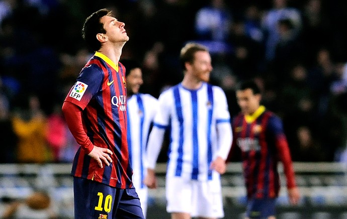 Messi derrota Barcelona contra Real Sociedad (Foto: AP)