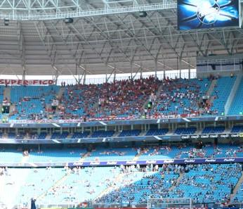 Grêmio Inter Gre-Nal torcida mista Arena Campeonato Gaúcho final (Foto: Diego Guichard/GloboEsporte.com)