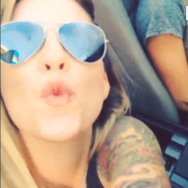 Ex-BBB Clara em Las Vegas, nos Estados Unidos (Foto: Instagram/ Reprodução)