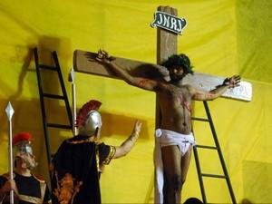 Encenação Semana Santa São João Nepomuceno (Foto: Marcus Martins/Arquivo pessoal)