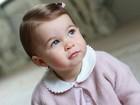 Princesa Charlotte aparece fofíssima em novas fotos divulgadas na web