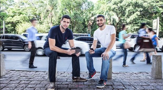 Alessandro Andrade e Fernando Salaroli, da Lean Survey (Foto: Fabiano Accorsi / Editora Globo)