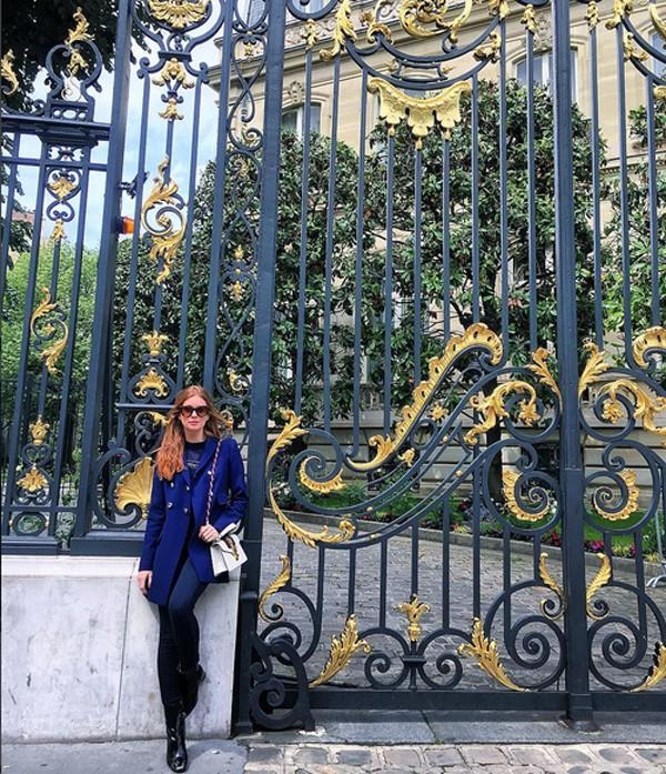 Marina Ruy Barbosa viajou para Paris (Foto: Reprodução / Instagram)