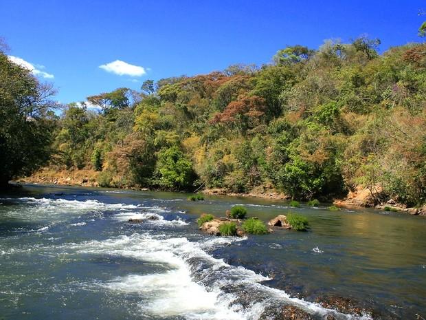 Rio Araguari (Foto: Divulgação/CBH Araguari)
