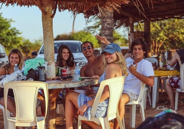 Sasha, Bruno e amigos (Foto: Instagram/Reprodução)