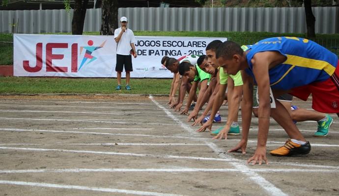 Estudantes entre 10 e 17 anos vão competir em mais de 10 tipos de esportes (Foto: Prefeitura de Ipatinga / Divulgação )
