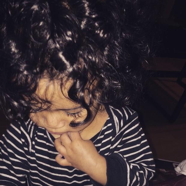 Royalty, filha de Chris Brown (Foto: Instagram/ Reprodução)