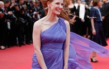 E o vento quase levou... O vestido de Jessica Chastain em Cannes