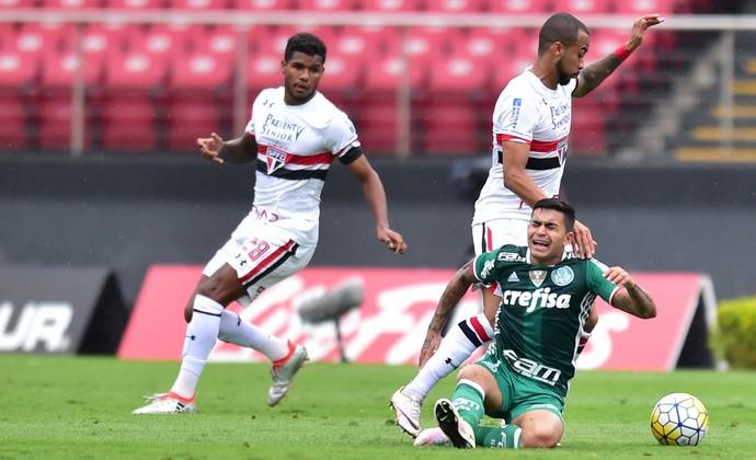 São Paulo X Palmeiras (Foto: Marcos Ribolli)