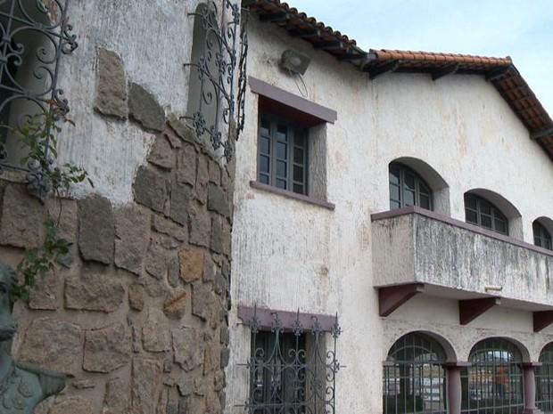 Sede do clube Saldanha da Gama vai virar museu, espírito santo (Foto: Reprodução/TV Gazeta)